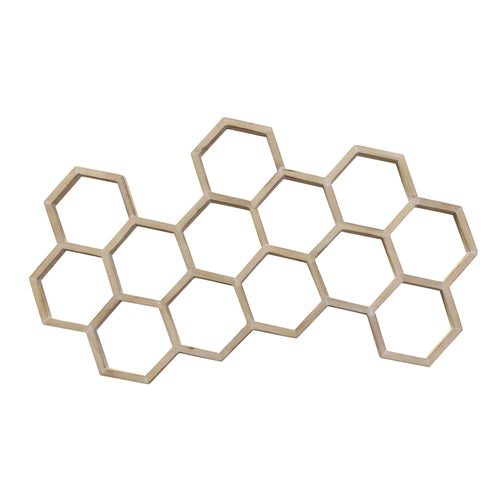 Stratton Home Decor Honeycomb Centerpiece Wall Decor