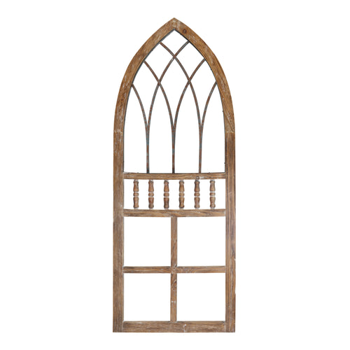 Stratton Home Decor Rustic Arch Panel Wall Decor