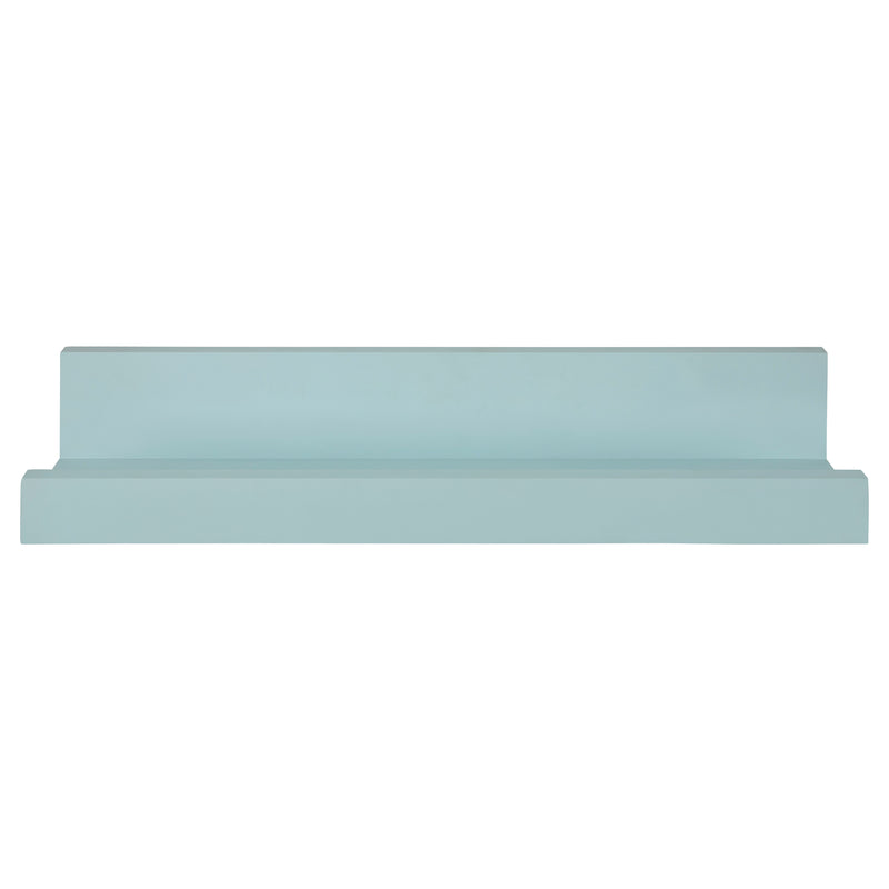 Stratton Home Decor Light Blue Floating Wall Shelf