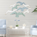 Stratton Home Decor Soaring Birds Metal Wall Decor