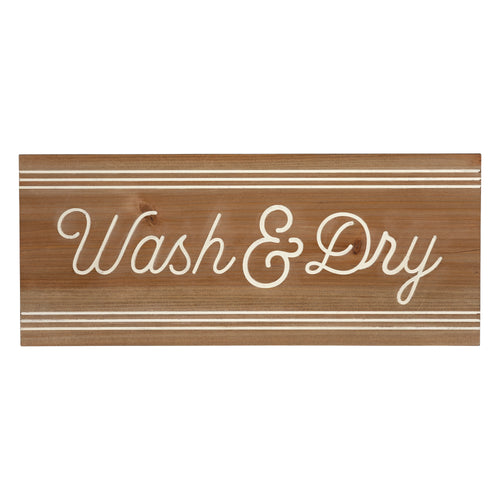 Stratton Home Decor Wash & Dry Wood Wall Art