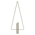 Stratton Home Decor Grey Triangular Wall Planter