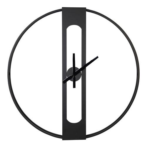 Stratton Home Decor 28 Inch Chase Metal Wall Clock