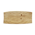 Stratton Home Decor Curved Natural Wood Tray