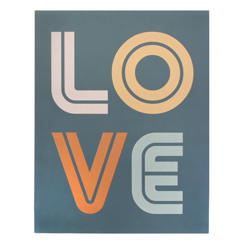 Stratton Home Decor Oversized Mid Century LOVE Wall Art