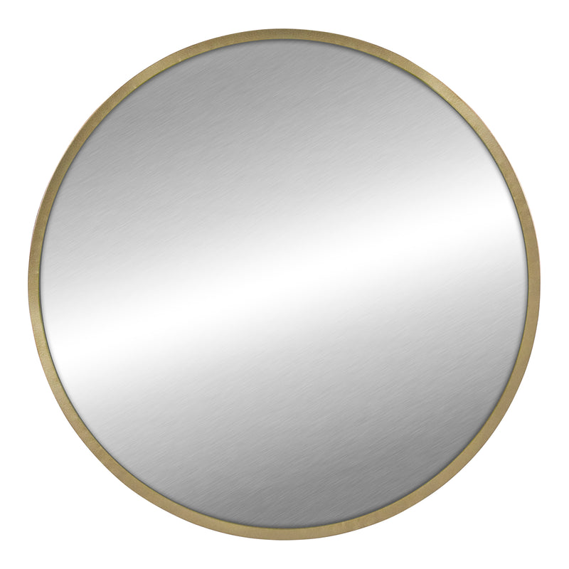 Stratton Home Decor Ava Round Gold Mirror