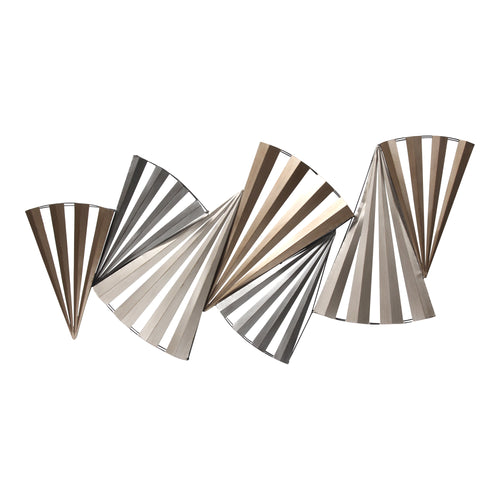 Stratton Home Decor Twisted Metal Centerpiece Wall Decor
