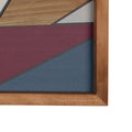 Stratton Home Decor Mid Century Abstract Panel Wall Art