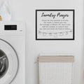 Stratton Home Decor Laundry Prayer Wall Art