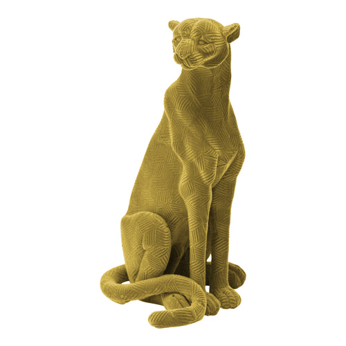 Stratton Home Decor Velvet Jaguar Tabletop Sculpture