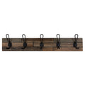 Stratton Home Decor Industrial Wood Wall Hooks