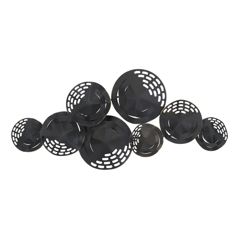 Stratton Home Decor Modern Black Centerpiece Wall Decor