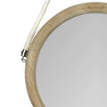 Stratton Home Decor Gigi Wood Mirror with Rope