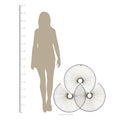 Stratton Home Decor Modern Fan Wall Decor