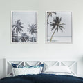 Stratton Home Decor Framed Palm Trees Wall Art