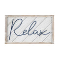 Stratton Home Decor Relax Wall Art