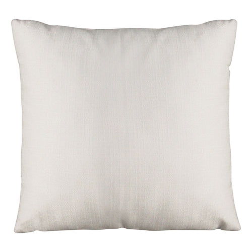 "Stratton Home Decor White Tweed 18"" Square Pillow"