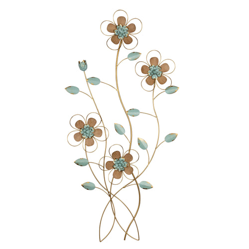 Stratton Home Decor Rising Flower Bunch Wall Decor
