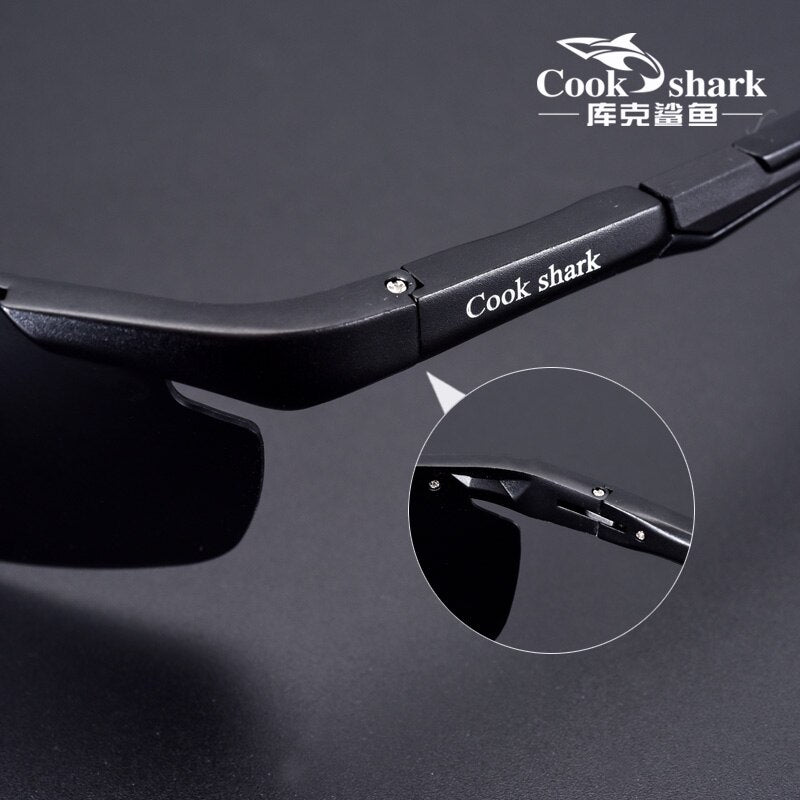 Cookshark Brand Men's Sunglasses Polarized Driving Hipster 8016