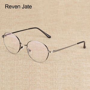 Reven Jate Prescription Eyeglasses Optical Spectacle Glasses Frame With 6 Optional Colors Free Assembly With Optical Lenses