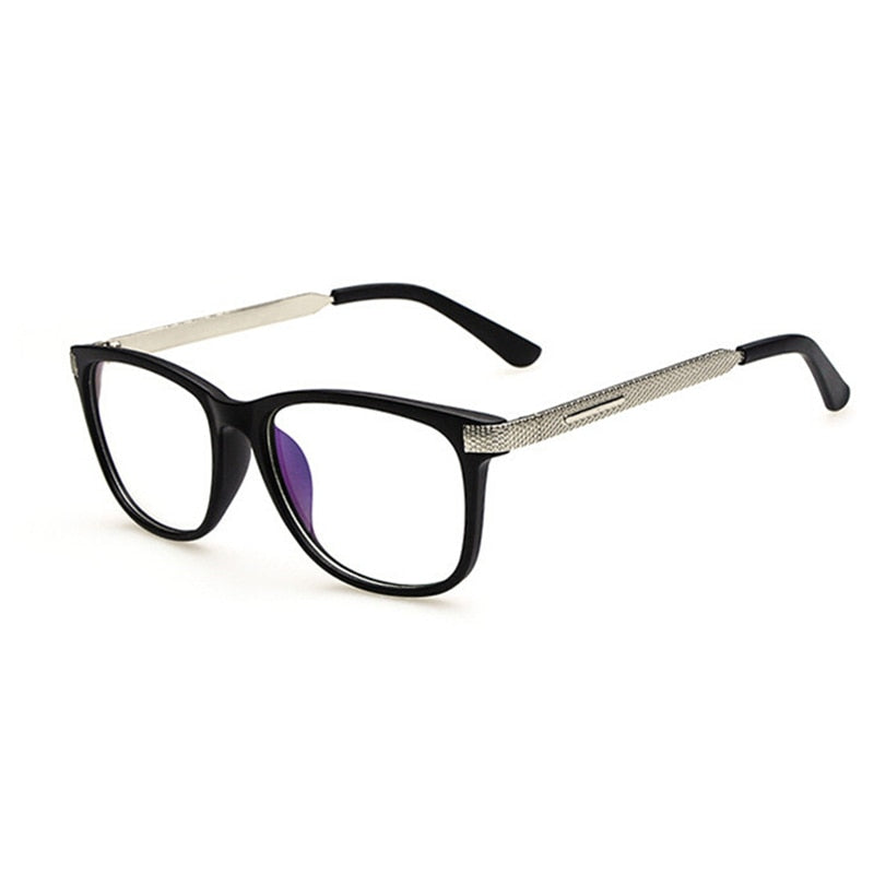 Kottdo Glasses Women Retro Vintage Reading Myopia Eyeglasses Frame Men Square Glasses Optical 0088