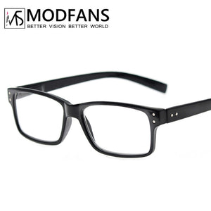 Reading Glasses Men Women Rectangle Frame Clear Lens Eyeglasses Presbyopic Ultralight Diopter +1.0 To 4.0