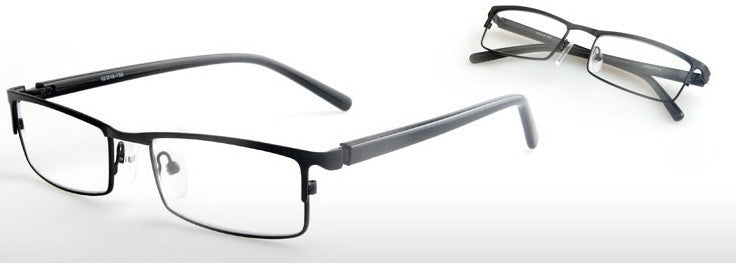 Unisex Reading Glasses Spring Hinge Anti Reflective Clear Lenses Optical Presbyopia 5011