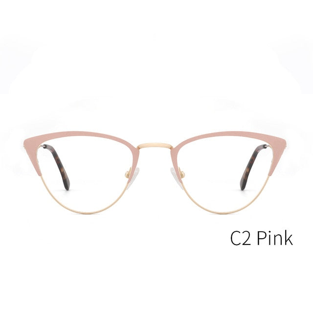 Kansept Brand Women's Eyeglasses Optical Glasses Frame Fashion Breezy Cat Eye 3743