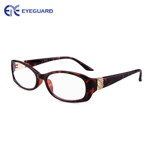 EYEGUARD Brand Women's Reading Glasses Anti-Reflective Crystal Design High Quality L-1610