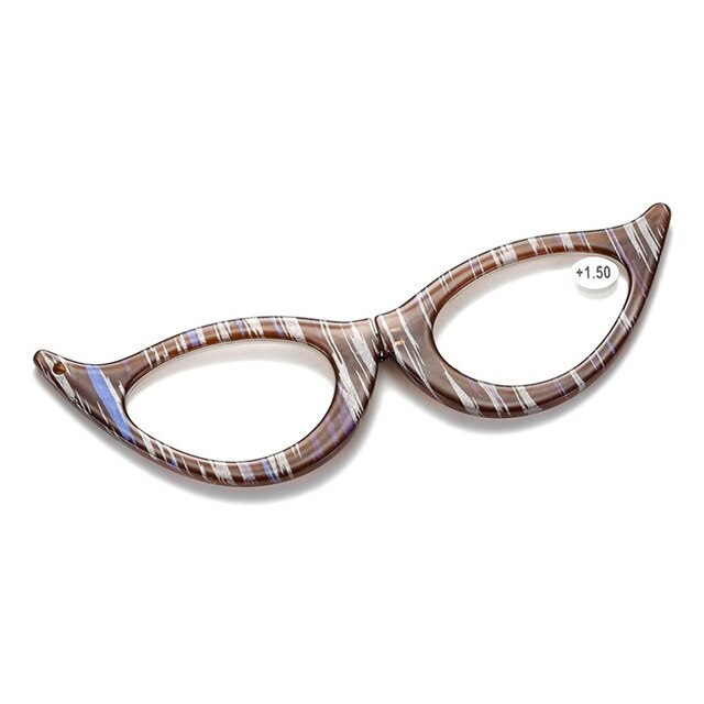 iboode Women's Reading Glasses Cat Eye Presbyopia With Diopter +1.0 1.5 2.0 2.5 3 3.5 4