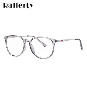 Ralferty Unisex Eyeglasses Computer Blue Light Blocking Spectacle Frames TR90 Points D6911