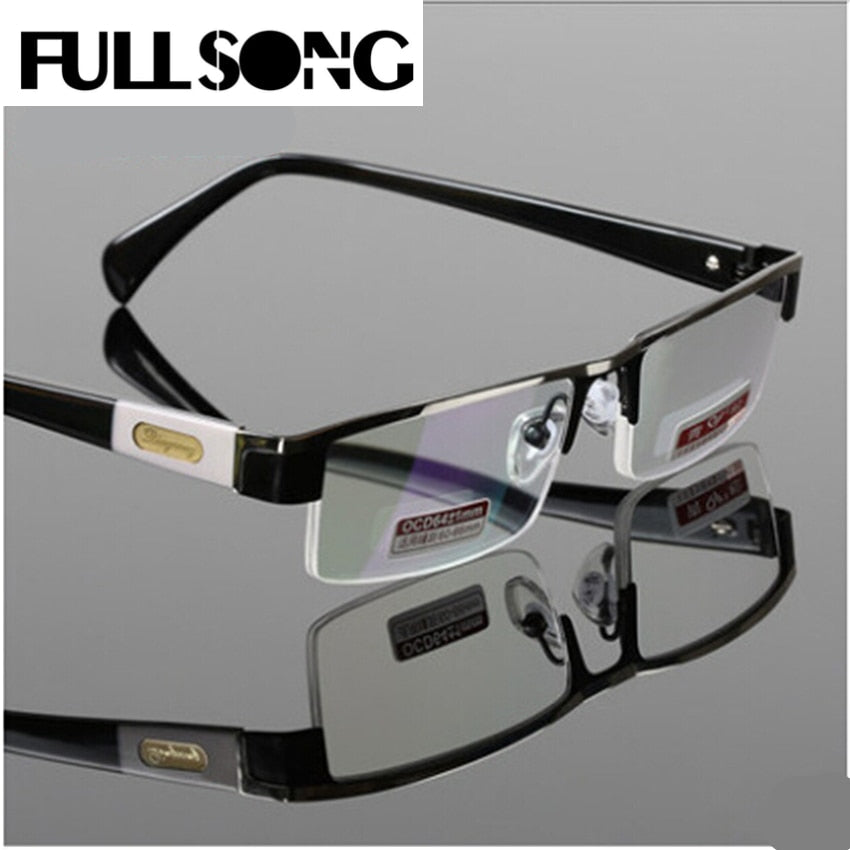 Fullsong Brand Unisex Reading Glasses Titanium Alloy Antirrflective Coated With Box Senator
