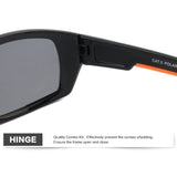 Jiangtun Brand Unisex Polarized Black Camo Designer Sunglasses Driving Sports Uv400 Jt8621