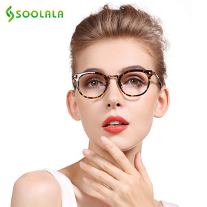 Soolala Brand Women's Cat Eye Reading Glasses Presbyopic +0.5 0.75 1.25 1.75 2.25 To 5.0
