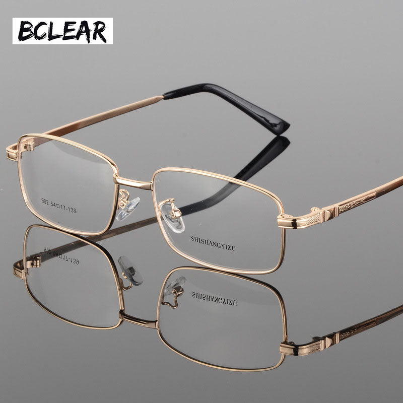 Bclear Fashion Eyeglasses Classic Thick Gold Plating Men'S New Full Frame Optical Glasses Frame Fashion Spectacle Frames S902