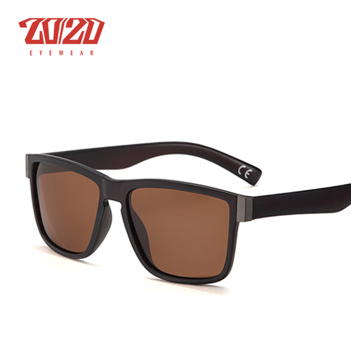 20/20 Classic Polarized Sunglasses Men Glasses Driving Coating Black Frame Fishing Eyewear Pl278