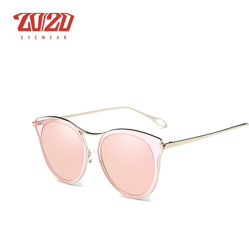 20/20 Brand Polarized Sunglasses Women Style Metal Frame P0877