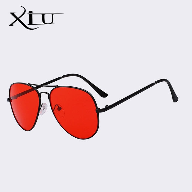 Xiu Brand Men'S Night Vision Sunglasses Driver Night Driving Eyewear Classic Uv400