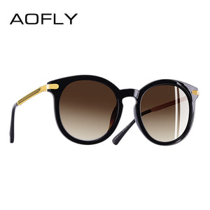 Aofly Brand Women Elegant Polarized Sunglasses Gradient Lens Uv400 A125