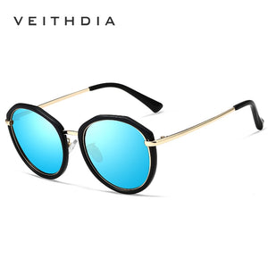 Veithdia Brand Designer Sunglasses Women Polarized Mirror Lens Luxury Ladies Vt3050