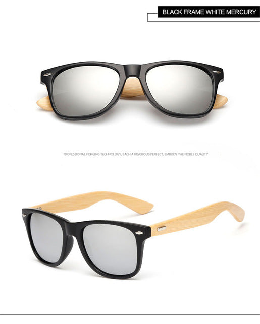 Longkeeper Brand Designer Bamboo Foot Unisex Women Wooden Sunglasses Original Wood Uv400