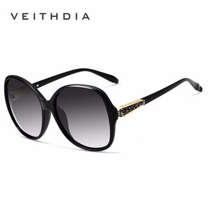 Veithdia Brand Designer Vintage Women Sunglasses Polarized Retro Luxury Vt3025