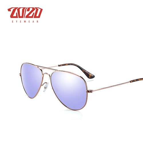 20/20 Brand Design Pilot Polarized Sunglasses Men Women Metal Frame Male Sun Glasses Unisex 17019