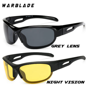 Warblade W1007-A Polarized Sunglasses Men Driving Night Vision Uv400