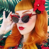 Belmon Fashion Cat Eye Sunglasses Women Rs678
