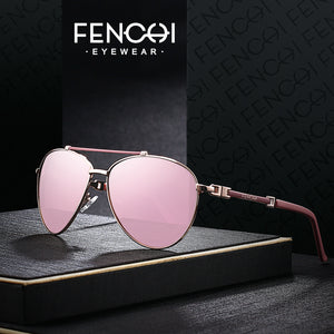 Fenchi Sunglasses Women Driving Pilot Classic Metal Fhd15010