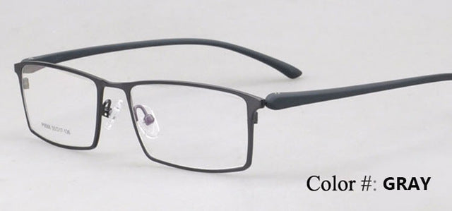 Bclear Hot New Arrival Alloy Optical Frame Eyeglasses Business Men Spectacle Frame For Myopia Presbyopia Full Frame 9068