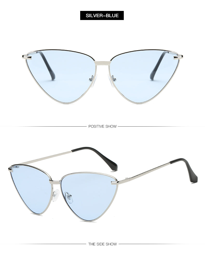 Ruismo Women Cat Eye Sunglasses Oversized Bls3419