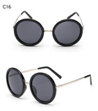 Dressuup Brand Unisex Vintage Round Sunglasses Men'S Women's Designer Retro Round Coated Shades