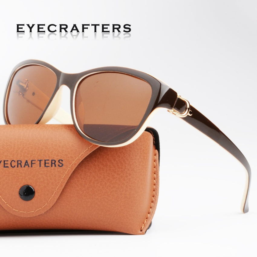 Eyecrafters Women Cat Eye Polarized Sunglasses Ud6083